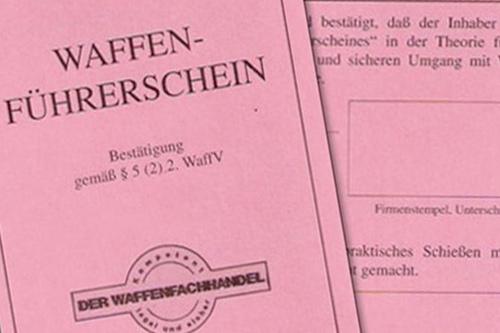 Waffen Hölzl - Waffenführerschein